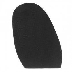 Spotty Mesh Stick On Soles 1.8mm Black
