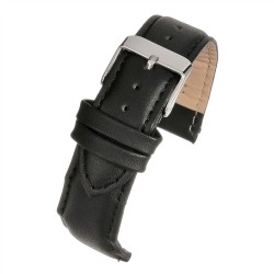 E100P Black Padded Watch Strap
