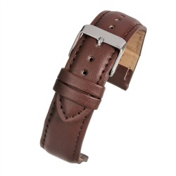E101P Tan Padded Watch Strap