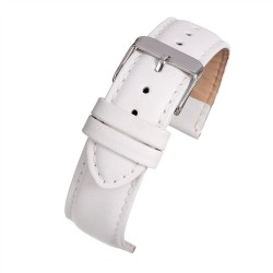 E104p White Padded Watch Strap