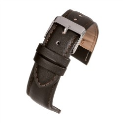 E105p Brown Padded Watch Strap