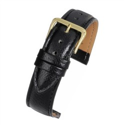 R507 Black Buffalo Grain Watch Strap