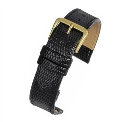 R616s Black Lizard Watch Strap