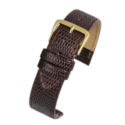 R617S Brown Lizard Watch Strap